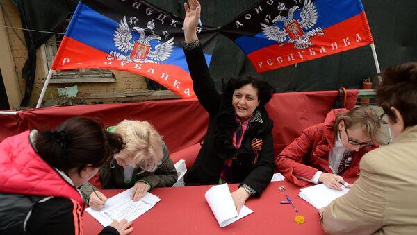 """Moscú pide a Kiev """"acciones reales"""" tras consultas independentistas - Sputnik Mundo"""