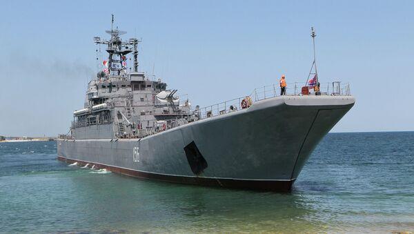 Buque de desembarco Yamal - Sputnik Mundo