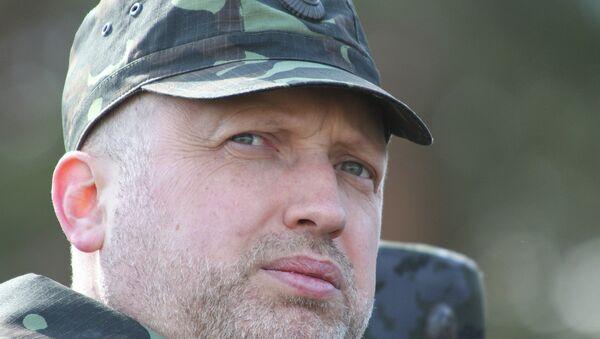 Alexandr Turchínov, presidente del Consejo de Seguridad Nacional y Defensa ucraniano (CSND) - Sputnik Mundo