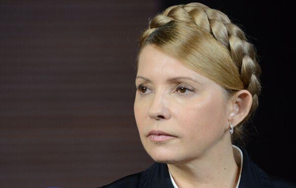 La exprimera ministra de Ucrania y candidata a la presidencia, Yulia Timoshenko - Sputnik Mundo
