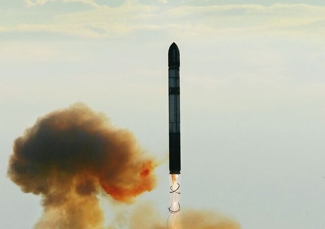 Un misil balístico intercontinental (imagen referencial)