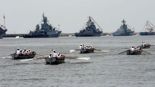 Buques de la Flota del Báltico (archivo) - Sputnik Mundo