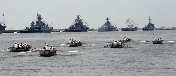 Día de la Flota del Báltico de la Armada Rusa - Sputnik Mundo