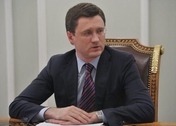 Ministro ruso de Energía Alexandr Nóvak - Sputnik Mundo