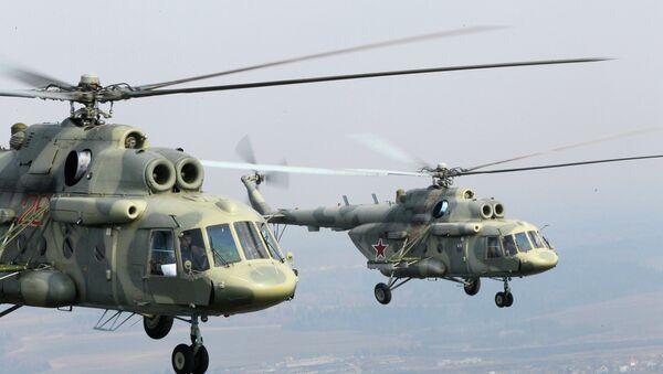 Helicópteros Mi-17 (imagen referencial) - Sputnik Mundo