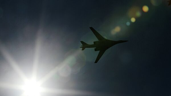 Бомбардировщик Ту-160 - Sputnik Mundo