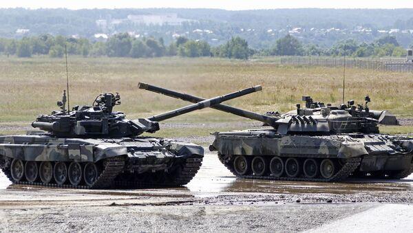 Tanques T-90 - Sputnik Mundo