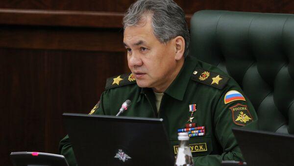 Serguéi Shoigú, ministero de Defensa de Rusia - Sputnik Mundo
