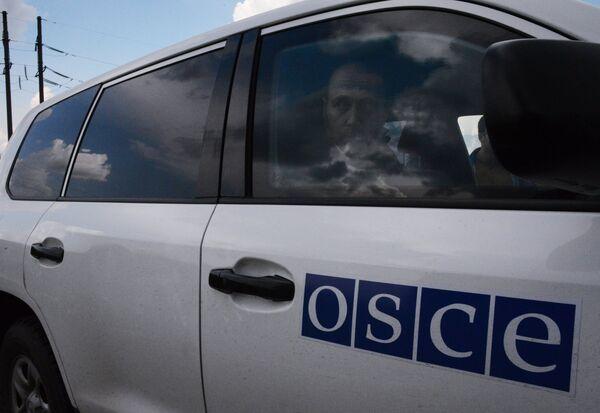 La OSCE retira a sus observadores electorales de Ucrania Oriental por razones de seguridad - Sputnik Mundo