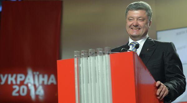 El presidente electo de Ucrania, Piotr Poroshenko - Sputnik Mundo