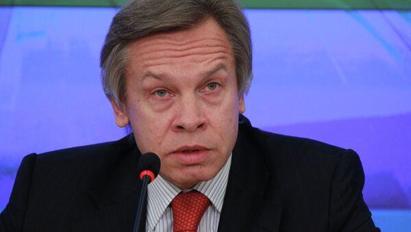 El diputado ruso Alexéi Pushkov - Sputnik Mundo