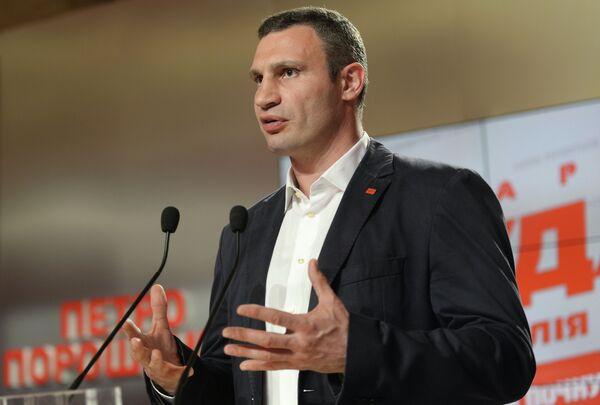 Klitschko respalda el recuento de votos de las elecciones de alcalde en Kiev - Sputnik Mundo