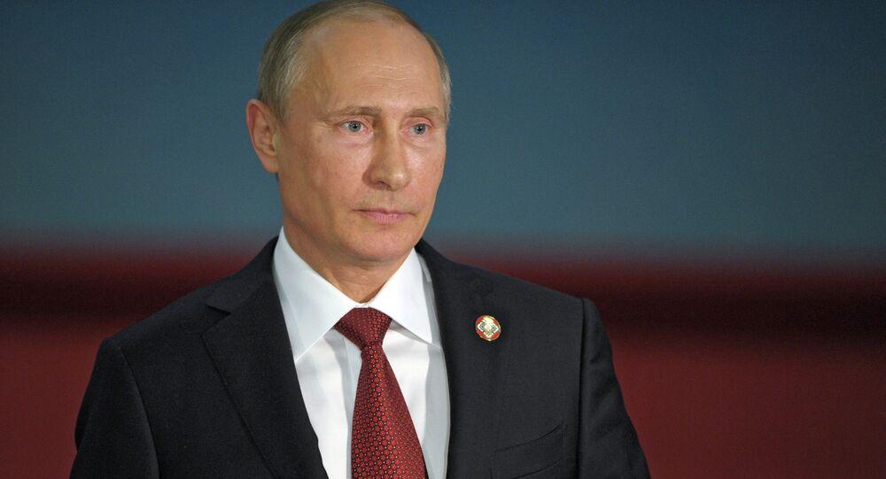 El presidente ruso, Vladímir Putin, en China (Archivo)
