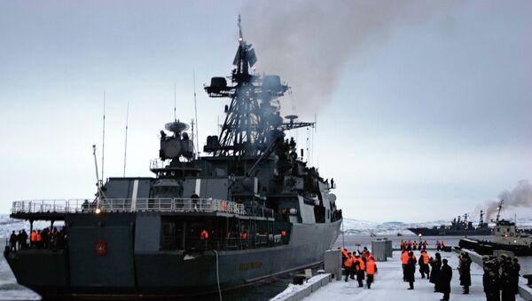 Buque destructor Almirante Lévchenko - Sputnik Mundo