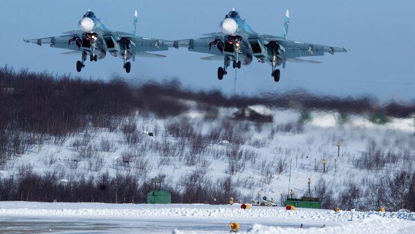 Cazas Su-33 - Sputnik Mundo