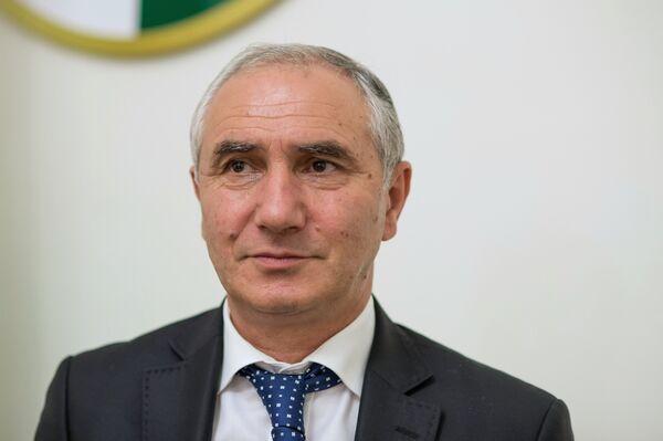 Valeri Bganba, presidente en funciones de Abjasia y titular del Parlamento nacional - Sputnik Mundo