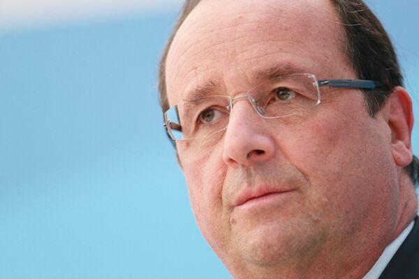 El presidente de Francia François Hollande - Sputnik Mundo