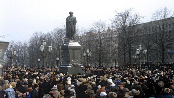Alexandr Pushkin, el sol de la poesía rusa - Sputnik Mundo