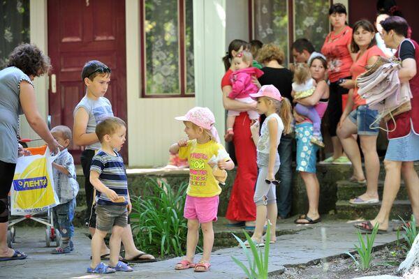 Se duplica el número de los refugiados ucranianos en la provincia rusa de Rostov - Sputnik Mundo
