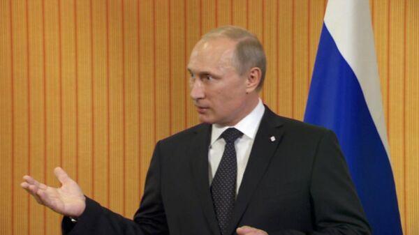 Putin dice que nadie renunciará a cooperar con Rusia en sector energético - Sputnik Mundo