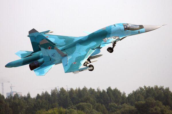 Bombardero Su-34 - Sputnik Mundo