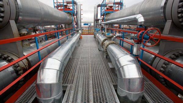 газовые трубы в комплексе - Sputnik Mundo