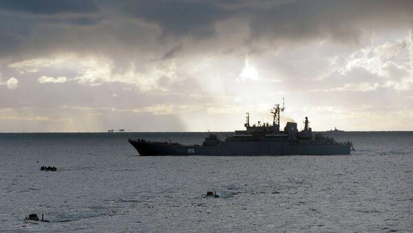 Georgy Pobedonosets, buque de desembarco del proyecto 775 (Ropucha en el sistema de catalogación de la OTAN) - Sputnik Mundo