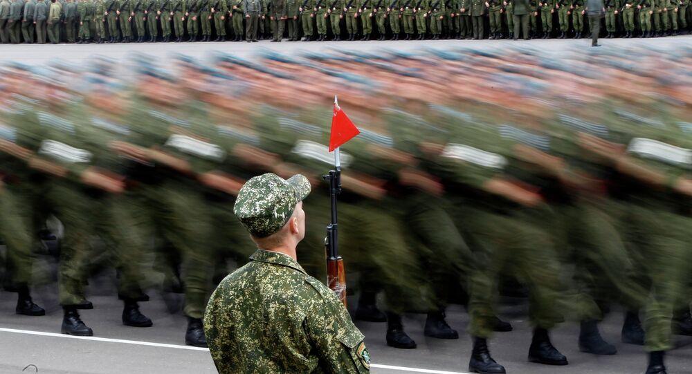 Soldados bielorrusos