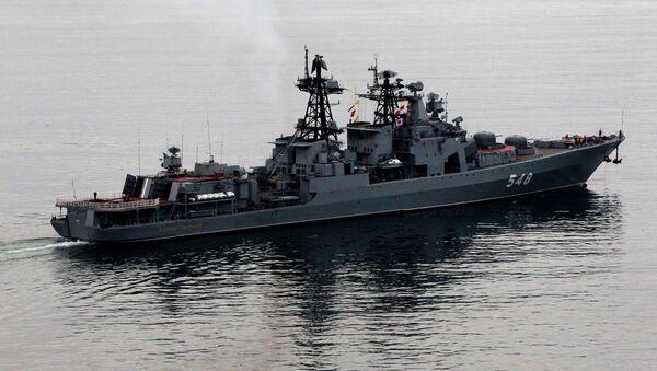 Buque antisubmarino Almirante Pantelévev - Sputnik Mundo