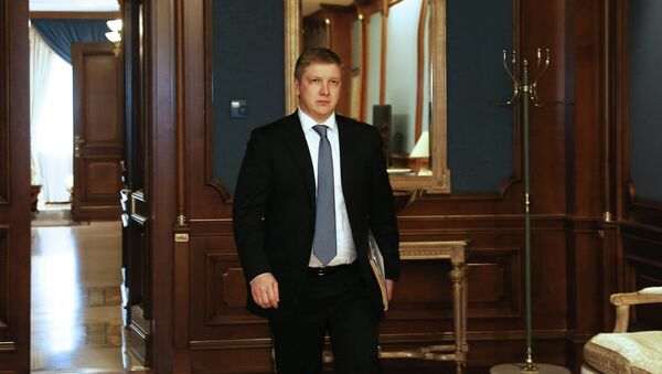 El jefe de Naftogaz, Andriy Kóbolev - Sputnik Mundo