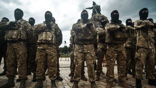 Avákov responde a la amenaza de Pravy Sektor de marchar sobre Kiev - Sputnik Mundo