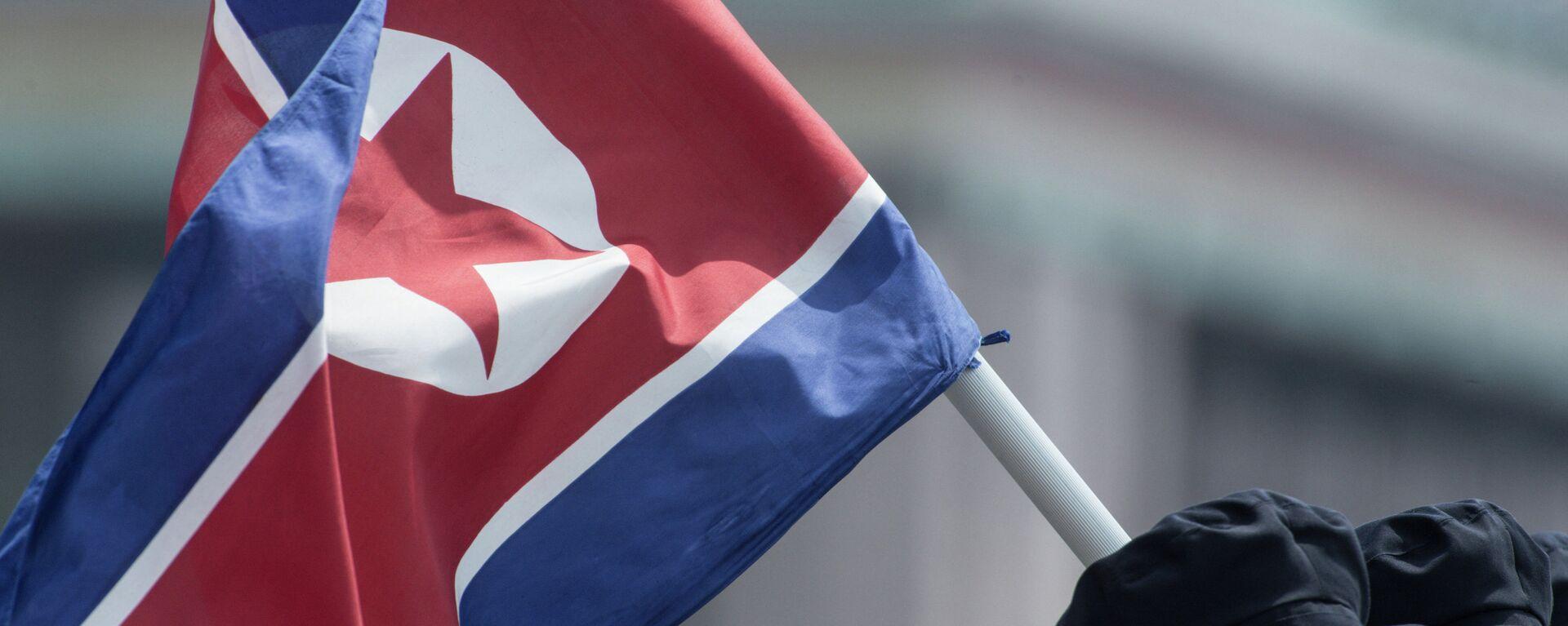 Bandera de Corea del Norte - Sputnik Mundo, 1920, 03.05.2021