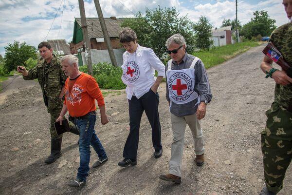 Lavrov espera que la Cruz Roja lleve ayuda humanitaria al sudeste de Ucrania - Sputnik Mundo