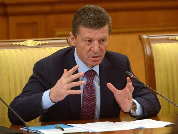 Dmitri Kózak, viceprimer ministro de Rusia - Sputnik Mundo