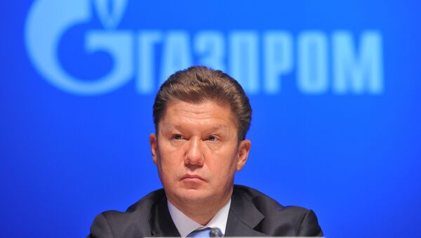 Председатель правления ОАО Газпром Алексей Миллер - Sputnik Mundo