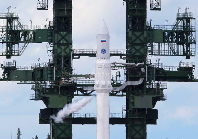 Произошла автоотмена запуска ракеты Ангара и старт отложен на сутки