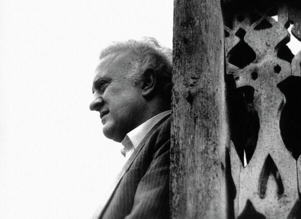 El 13 de Julio de 2014 fue enterrado en Tiflis el ex presidente de Georgia y ex ministro de Asuntos Exteriores de la URSS, Eduard Shevardnadze. - Sputnik Mundo