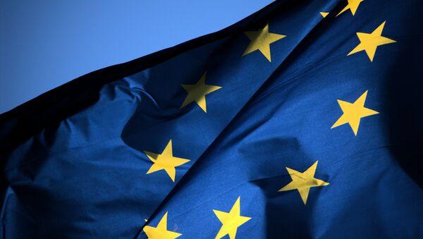 Флаг ЕС - Sputnik Mundo