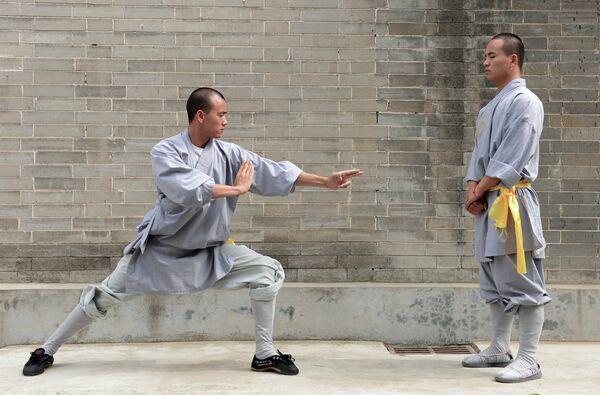 El templo de Shaolin enseñará kung fu a través de una aplicación de móvil - Sputnik Mundo