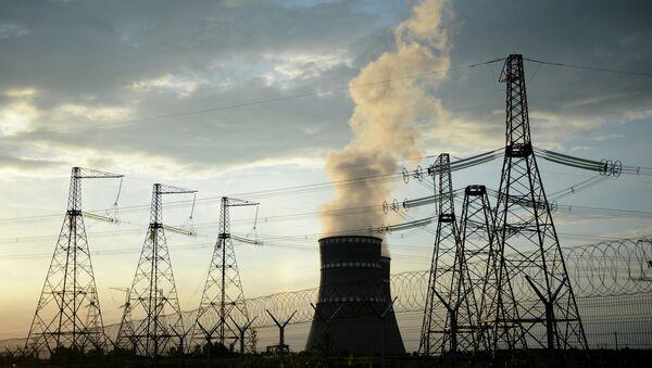 Planta de energía nuclear - Sputnik Mundo