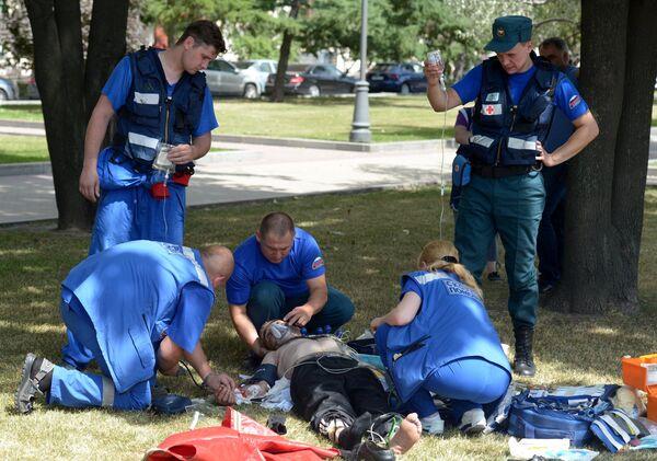 Más de 160 víctimas en un accidente en el metro de Moscú - Sputnik Mundo