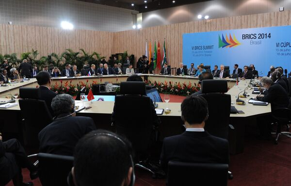 Cumbre BRICS - Sputnik Mundo