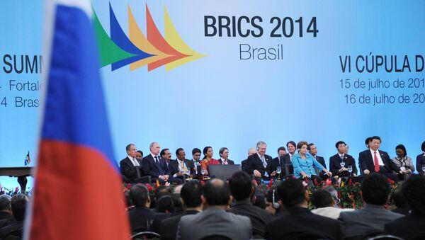 BRICS diseña una postura común en asuntos internacionales - Sputnik Mundo