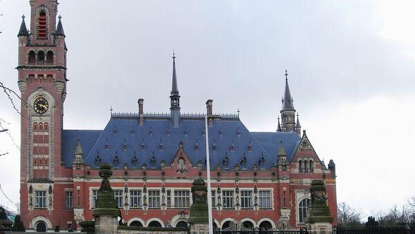 Здание Международного суда ООН в Гааге - Sputnik Mundo