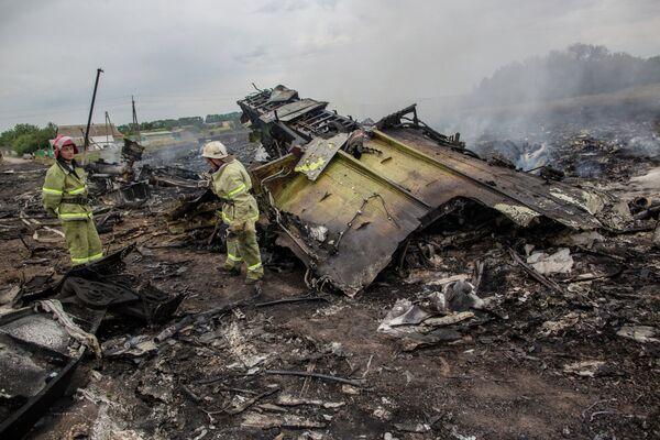 Catástrofe del Boeing de Malaysia Airlines en el este de Ucrania - Sputnik Mundo