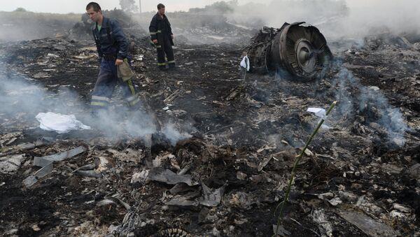 Militares rusos se desmarcan de la catástrofe del Boeing en Ucrania - Sputnik Mundo