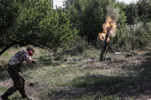 Jueces instructores rusos, atacados con morteros desde Ucrania - Sputnik Mundo