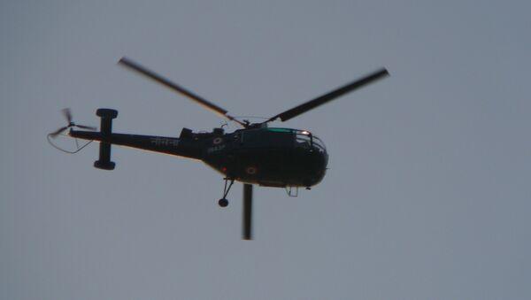 Helicóptero de las Fuerzas Aéreas de la India - Sputnik Mundo