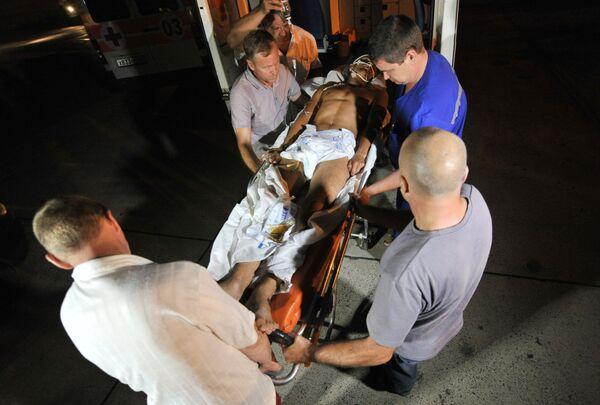 Rusia ayuda a Ucrania a evacuar a militares heridos y muertos desde la zona de combates - Sputnik Mundo
