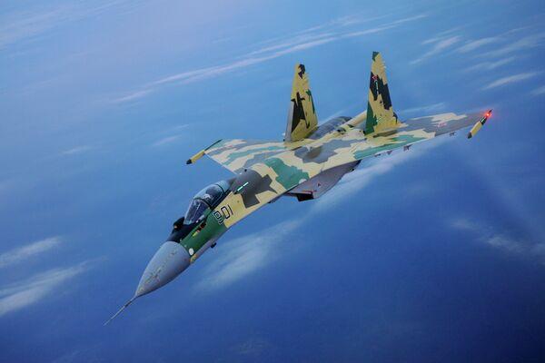 Caza multipropósito Su-35 - Sputnik Mundo